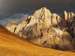 Cima dei Bureloni from near Baita Segantini.
